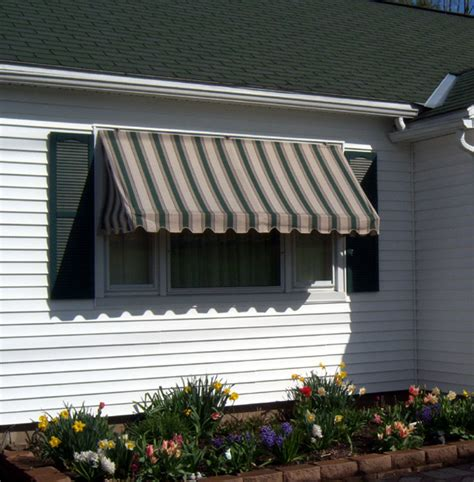 what are awnings made of window awnings and door awnings for home and business