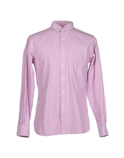 light purple dress shirt brooks brothers long sleeve shirt in purple for men light