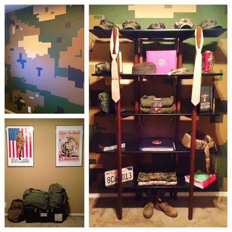marine themed bedroom 1000 images about military theme room on pinterest end tables with storage marine