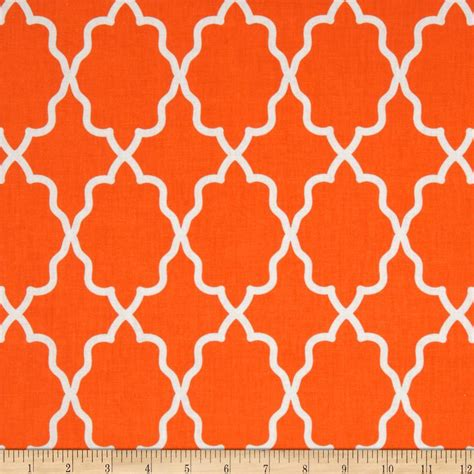 fabric pattern moroccan michael miller coco cabana moroccan lattice orange