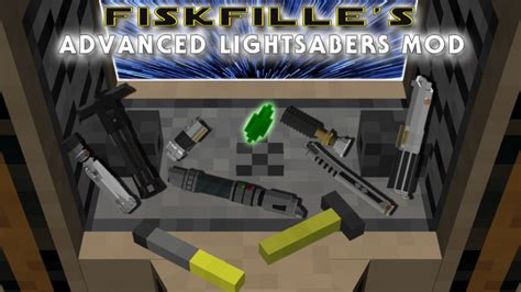 1 7 10 Advanced Lightsabers 67 Trillion Unique Combinations Forge Minecraft Mod