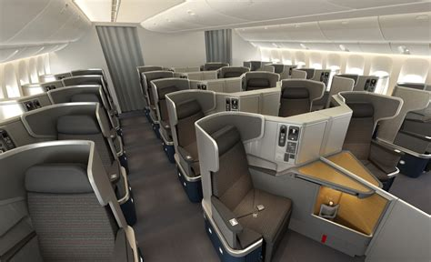 american airlines shows   boeing  er interior