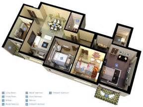 3 Bedroom Floor Plan Design 3 bedroom bungalow floor plans 3 bedroom bungalow design