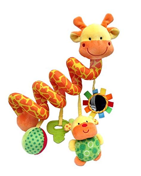 Giraffe Baby Crib Toy From Crib Critters Wrap Around Crib Toys For Babies