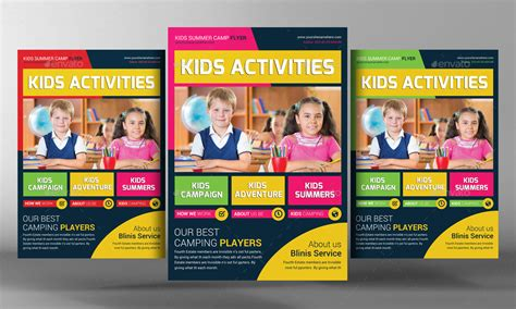 templates for school flyers kids school education flyer template by graphicforestnet