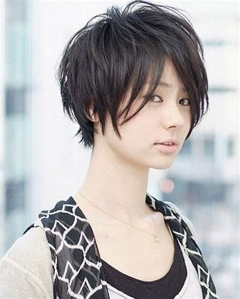 model rambut pendek wanita jepang   rambut pendek