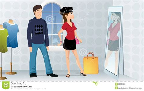 Couples Clothing Store Fashion Store Royalty Free Stock Photos Image