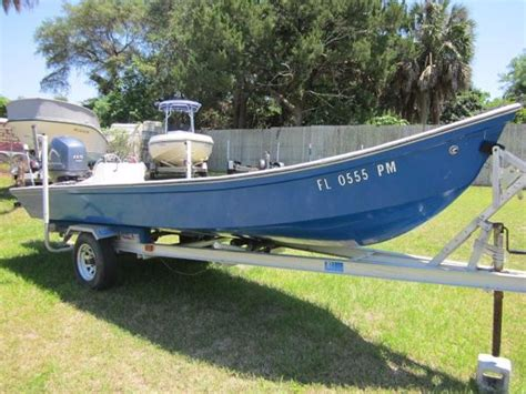 flats boats used for sale old timer 18 catfish