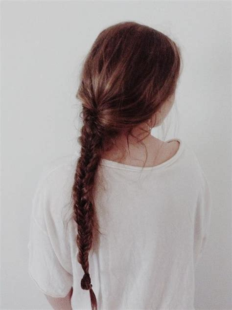 pinterest long curly fishbone tail picture with red curly hair fishtail braid hair pinterest fishtail fishtail