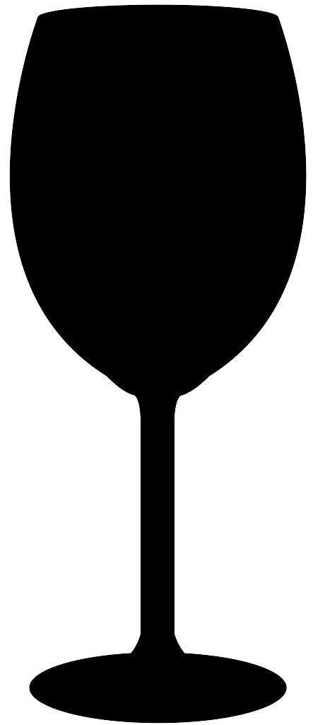 wine glass silhouette wine glass silhouette free vector silhouettes