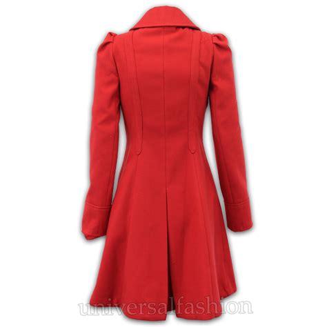 Hoodie Technics Roffico Cloth coat womens wool look office breasted italian style skirter winter ebay