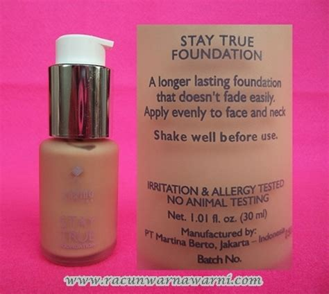 Harga Caring Colours Foundation racun warna warni review caring colours stay true foundation