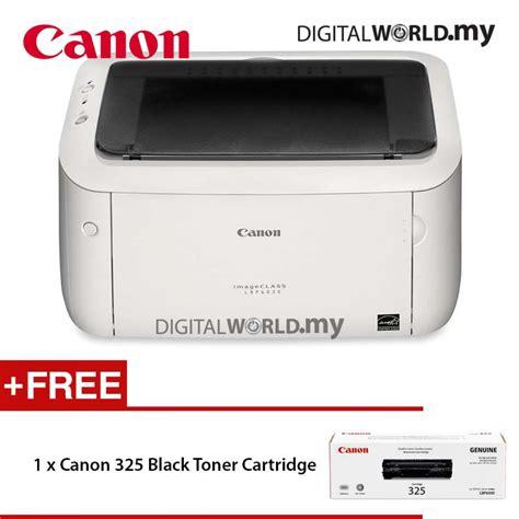 Toner Canon 325 canon imageclass lbp6030 mono laser printer white free canon 325 black toner cartridge canon