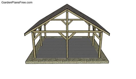 outdoor shelter plans picnic shelter roof design pictures to pin on pinterest