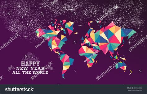 happy new year around the world 2016 worldwide greeting