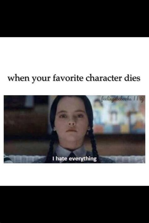 when your dies when your favorite character dies books my recovery