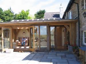 Small A Frame Cabins Oak Framed Orangery With Pitched Glazed Roof