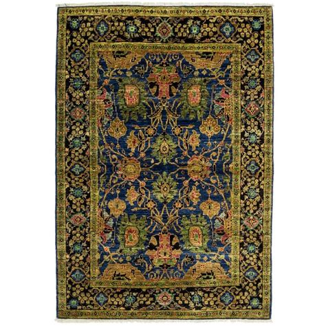 eclectic rugs blue eclectic area rug rugs for sale at 1stdibs