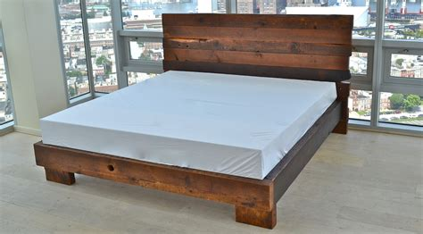 Mattresses Baltimore by Reclaimed Handmade Beds Bedframes Sandtown Millworks