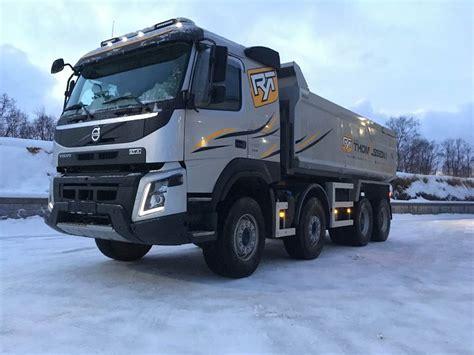 volvo fmx   med sorling dumper mdobble sider dump trucks year  price