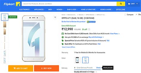 Oppo A71 New By Arena Phone Cell oppo a71 lands in india for 200 gsmarena news
