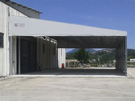 tettoie industriali tettoie industriali in pvc coperture monoside tunnel