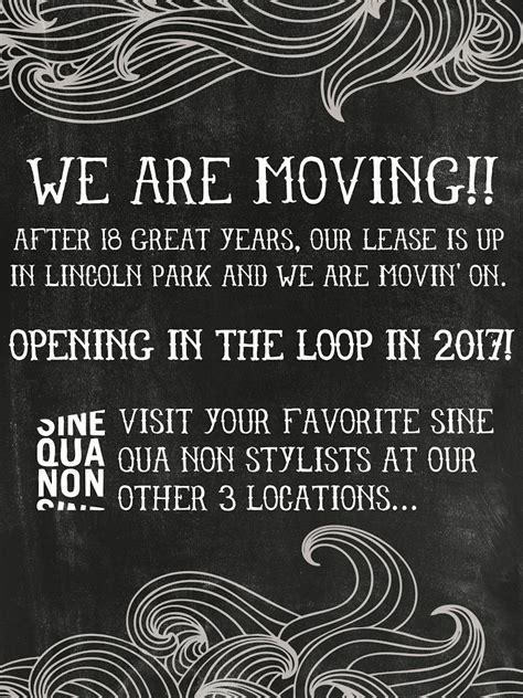 sine qua non lincoln park lincoln park salon is closing on june 18th sine qua non