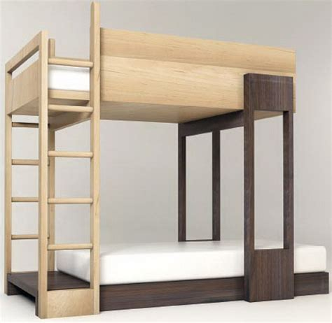Large Bunk Bed Pluunk Bunk Bed Bunk Up Contemporary Bunk Beds For Mod Tots Popsugar