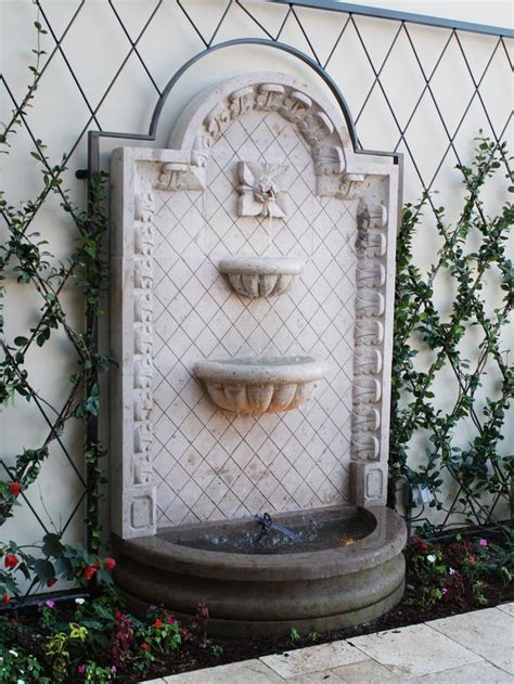 Water Walls Exterior Home Design And Decor Reviews Garden Wall Water Features