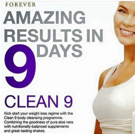 Forever Clean 9 Detox Diet by C9 The Clean 9 Program Can Help You To Jumpstart Your