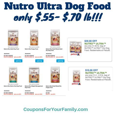 Nutro Choice Food Printable Coupons