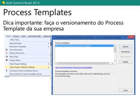 stron biz process template tfs