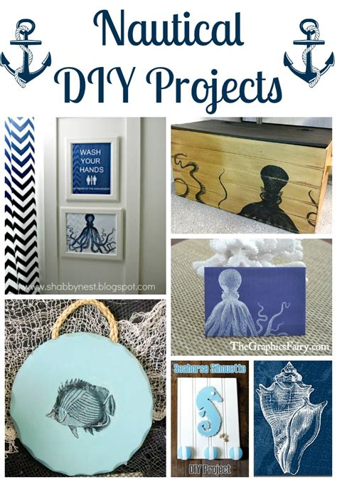 nautical diy crafts 18 nautical diy projects the graphics