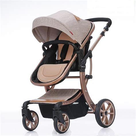 2016 new design luxury baby stroller 8 colour four