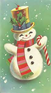 1968 snowman vintage card graphics 4 frosty