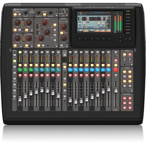 mesa de som digital behringer  compact  sound