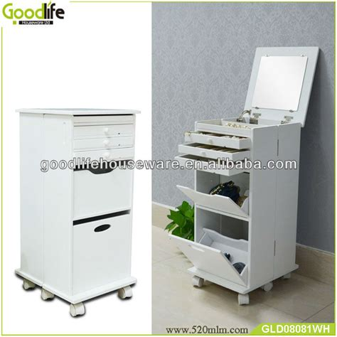 wooden makeup cabinet for treasures chest of drawers buy