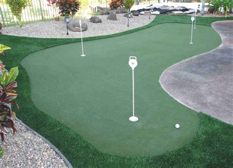 how to build a putting green in your backyard fake lawn is certainly beautiful arizona synthetic grass