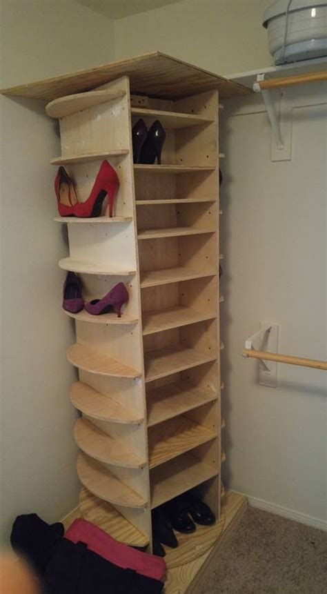 diy shoe rack for closet best 25 diy shoe rack ideas on diy shoe