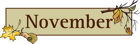 November Printable Banner | clip art november clipart image 2 cliparting com