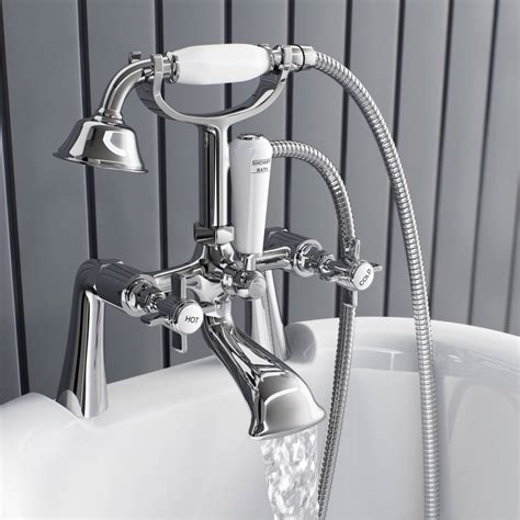 bath tap with shower attachment hshire bath shower mixer tap victoriaplum