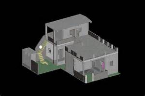 Home Design 3d Export To Cad by 3d Home Autocad 3d Cad Model Grabcad