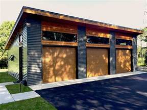 Stand Alone Garage Designs car garage plans modern three car garage plan design 050g 0035