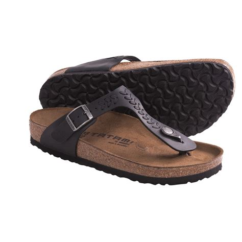 woven sandals for tatami by birkenstock gizeh woven sandals for