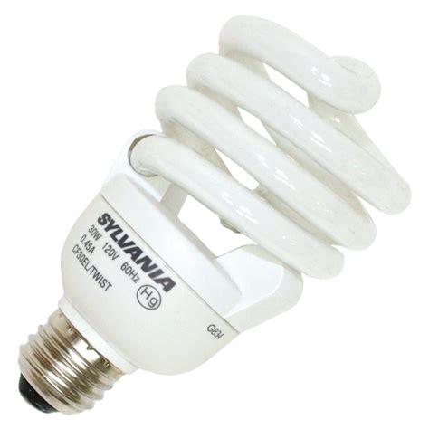 sylvania fluorescent light bulbs sylvania 29395 cf30el twist 830 twist medium base