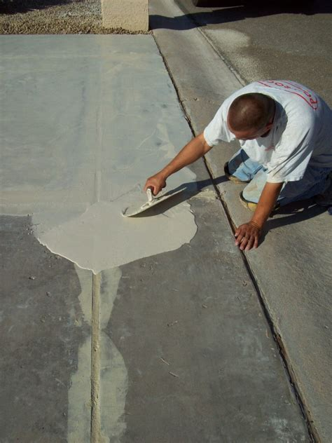 how to fix a cracked how to repair concrete patio concrete repair give your