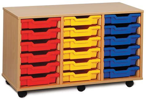 Classroom Drawers shallow tray classroom storage units classroom tray