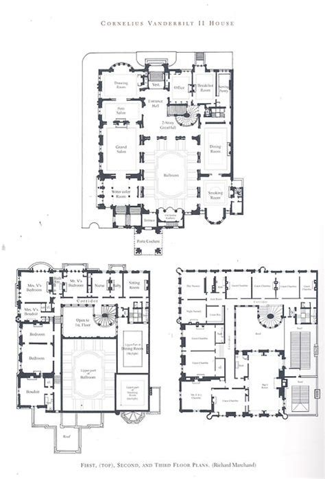 gilded age mansions floor plans the gilded age era the cornelius vanderbilt ii mansion