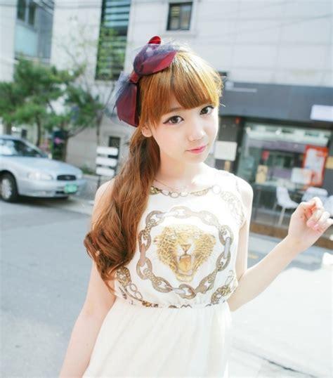 cute girl hairstyles new korean cute girls latest hairstyles new hairstyles
