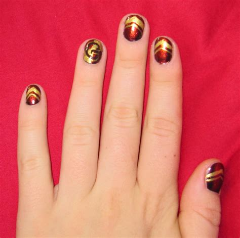 Gryffindor Nail gryffindor fury nail